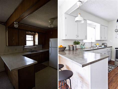 renovation cuisine bois avant apres rénovation cuisine avant après