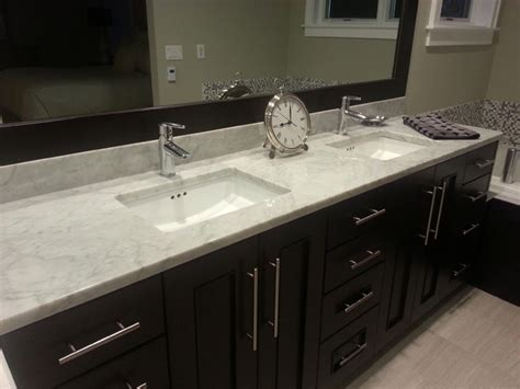 carrara white kitchen master bath contemporary
