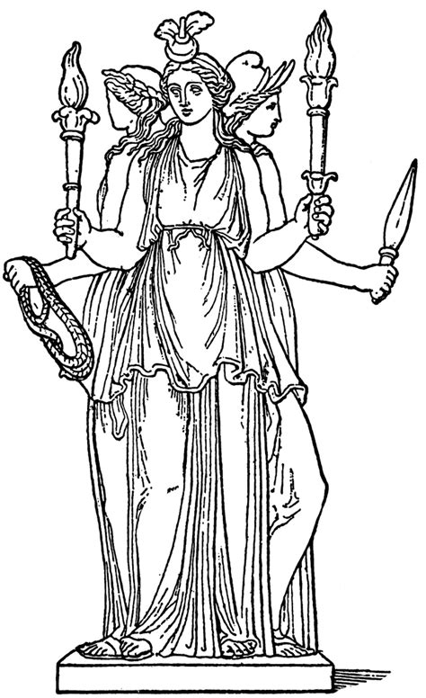 hecate clipart