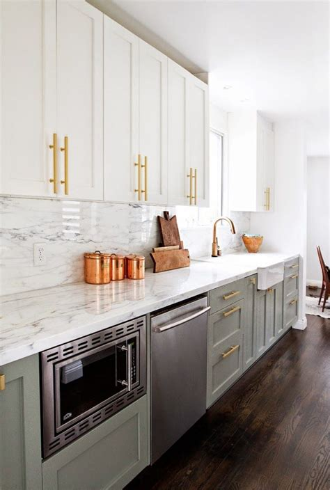 gold kitchen cabinet hardware the 10 commandments of a clutter free kitchen copper