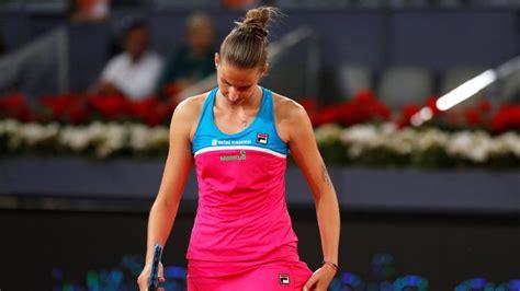 grrr karolina pliskova bashes    list  notable tennis meltdowns