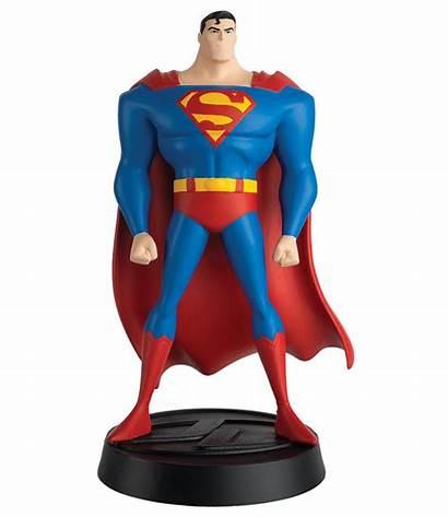 Superman Justice League Animated Figurines Eaglemoss Announces