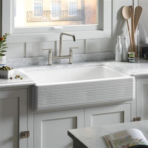 kohler whitehaven farmhouse sink accessories kohler k 6349 0 whitehaven hayridge