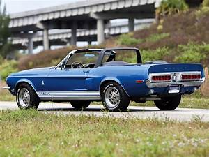 1968, Shelby, Gt350, Convertible, Ford, Mustang, Muscle, Classic Wallpapers HD / Desktop and ...