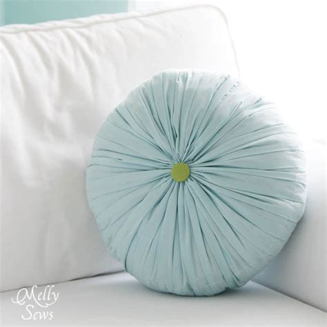 pleated pillow tutorial melly sews