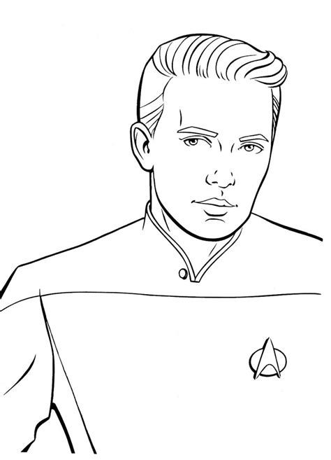 trek coloring book trek coloring pages to and print for free