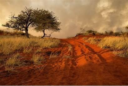 Africa Namibia Savannah Road 4k Sand Wallpapers