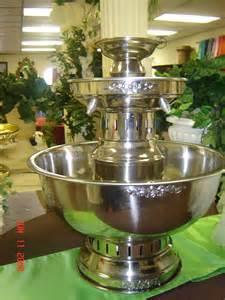 Wedding Punch Fountains Rentals