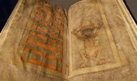 lucifer write  scary devils bible massive codex