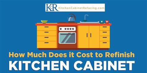 cost to refinish kitchen cabinets how much does it cost to refinish kitchen cabinets
