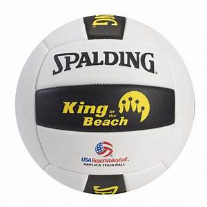 Spalding King Of The Beach Replica Tour Volleyball   Focus ...
