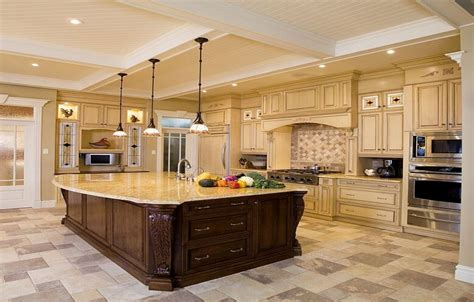 Luxury Kitchen Islands Luxury Design Ideas For A Large Kitchen