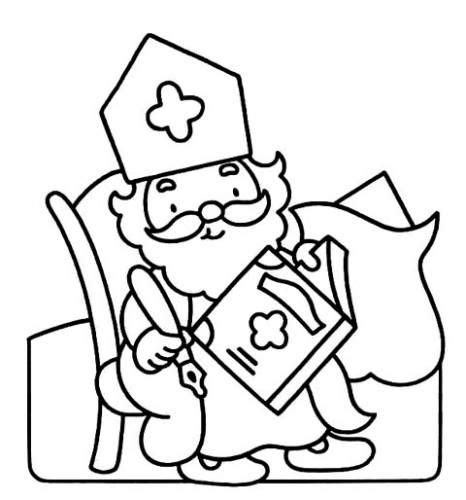 Kleurplaat Kleuter by Afbeeldingsresultaat Voor Sinterklaas Kleurplaat Peuters