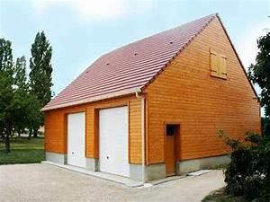 Garage Ossature Bois : amdt maisons ossature bois loiret 45 ~ Melissatoandfro.com Idées de Décoration