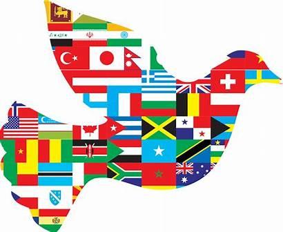 Peace International Clipart Montessori Education Dove Travel