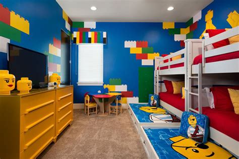 Best Kids Bedroom With Lego Themes
