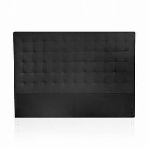 Tete De Lit Noire 140 : deco in paris tete de lit noir 140 cm daisy tdl daisy 150 pu noir ~ Teatrodelosmanantiales.com Idées de Décoration