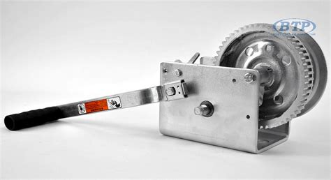 Boat Winch by Boat Trailer Winch Zinc Plated 3200lb Capacity Dutton