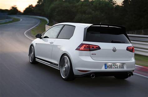 volkswagen launches golf gti clubsport edition  autocar