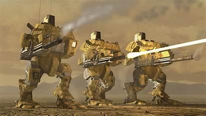 Tiberium Titan Sun Mech Wasteland Tiberian Wastelands