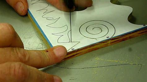 scroll  cutting  beginners pt  funnycattv
