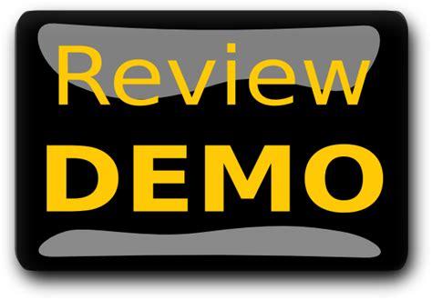 Review Demo Black Clip Art At Clkercom  Vector Clip Art