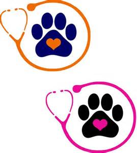 Vet Tech Stethoscope Heart