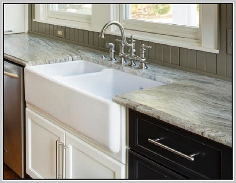 how to install kitchen sink top mount farmhouse sink home design ideas 7265
