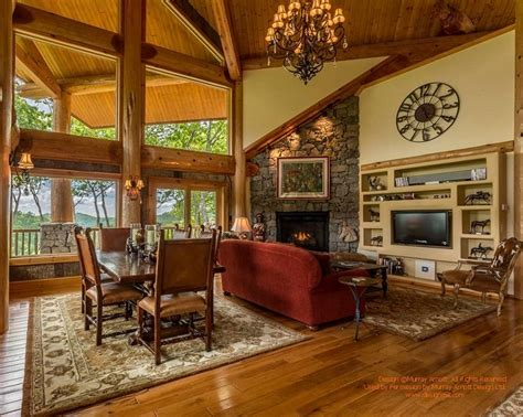 log home living rooms 22 luxurious log cabin interiors you to see log