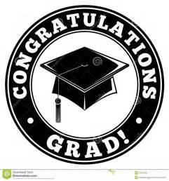 Congratulations Graduates Clip Art Black and White