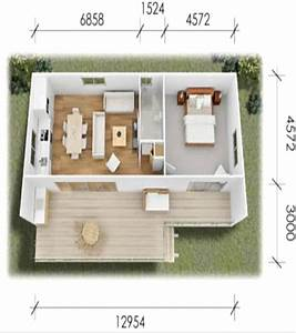 Granny Flat Design One Bedroom Up To Sixty Square Meters ...