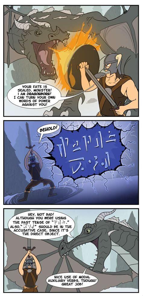 How To Conquer A Dragon In Skyrim Dorkly Skyrim