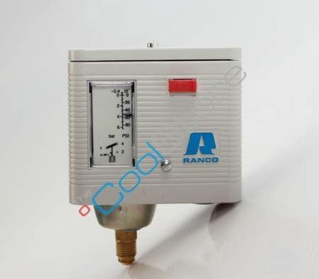 single pressure switch ranco 016 h 6705 nc r coolstore store