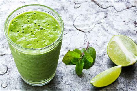 cuisine provencal green mojito smoothie recipe simplyrecipes com