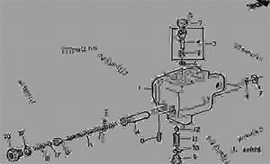 Brake Valve  9  - Tractor John Deere 2150 - Tractor