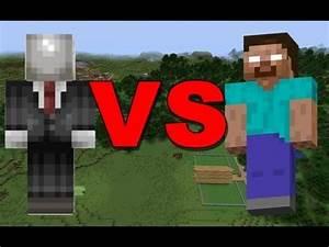 Minecraft: Herobrine vs Slenderman / Minecraft Short Movie ...