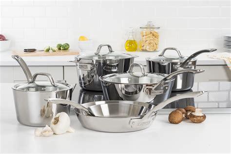 viking cookware essential pots  pans