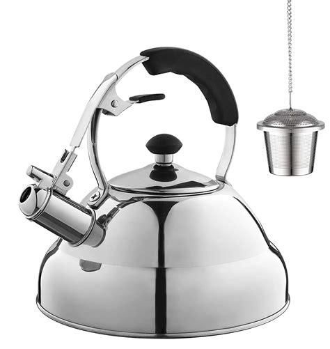 tea kettle kettles eurolux amazon whistling pot icool teapot quart