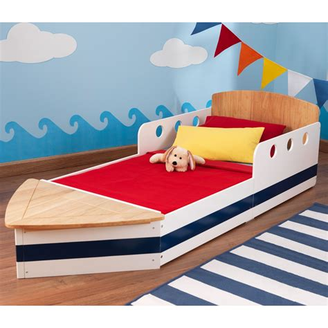 Boat Bed Amart by Boat Toddler Bed For Boys Kid Kraft Cuckooland