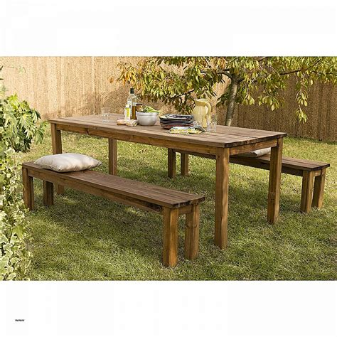table chaises awesome table de jardin teck et inox contemporary