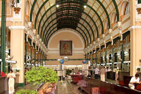 saigon central post office unique architectural complex