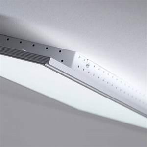 Deckenleuchte Dimmbar Led : led panel 60w deckenleuchte 100cm x 35cm eckig inkl fernbedienung dimmbar ebay ~ Watch28wear.com Haus und Dekorationen