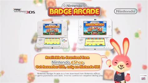 nintendo badge arcade  friday  eu trailer shows