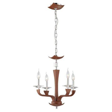 brown chandelier y decor hercules 4 light brown wood globe chandelier