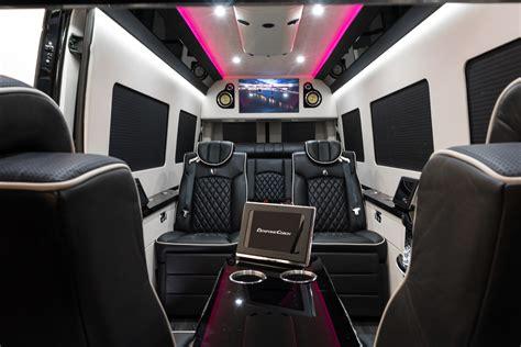 bespoke coach luxury custom coaches sprinter van