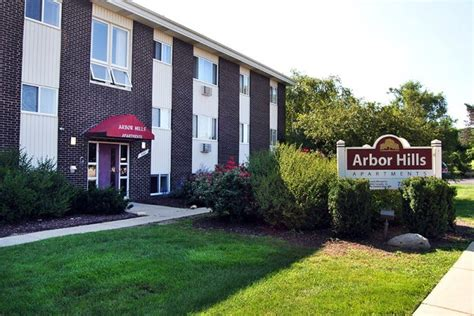 Arbor Hills Apartments In Ann Arbor, Michigan