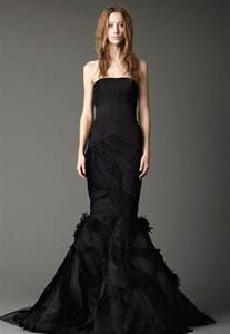 and black bridesmaid dresses black wedding dresses by vera wang ipunya