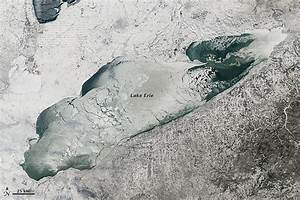 Frozen Lake Erie : Image of the Day
