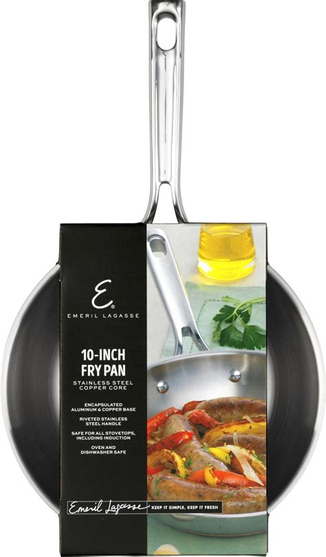 emeril stainless steel copper core fry pan  walmart canada