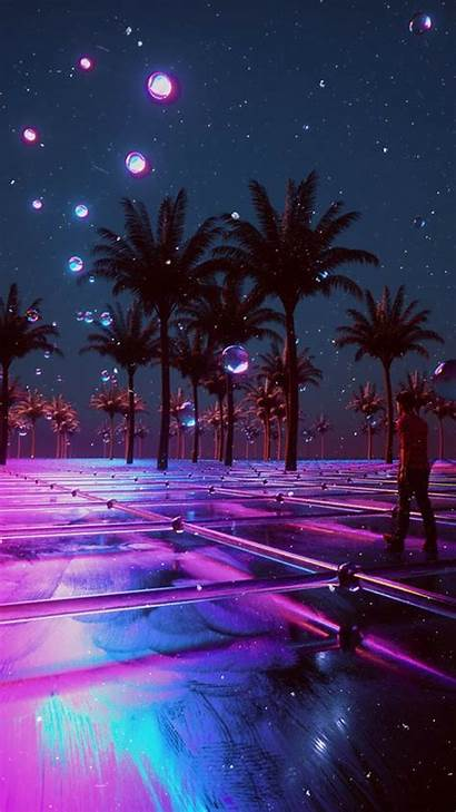 Aesthetic Neon Vaporwave Heaven Wallpapers Trippy Reddit